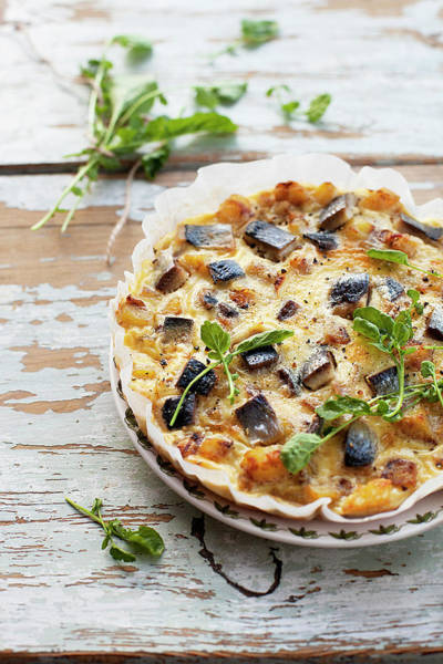 Seafood Photograph - Potato, Herring, Onion And Egg Omelette by ©tasty Food And Photography