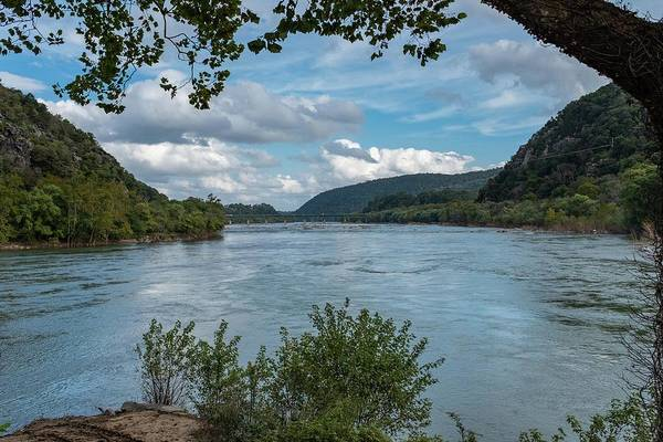 Potomac River At Harper's Ferry Art Print