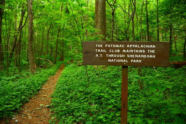 Photograph - Potomac Trail Club Sign by Raymond Salani III