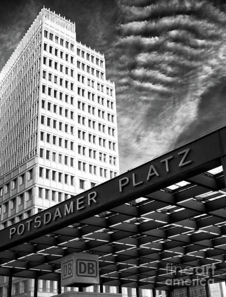 Wall Art - Photograph - Potsdamer Platz Berlin by John Rizzuto