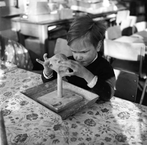 Determination Photograph - Pottery Class by Juliette Lasserre