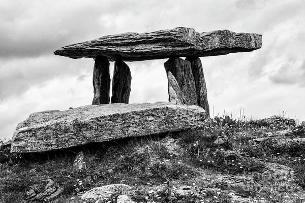 Photograph - Poulnabrone Dolmen Four 2 by Bob Phillips