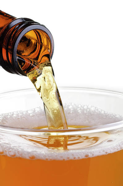 Beer Photograph - Pouring Beer by Doug4537