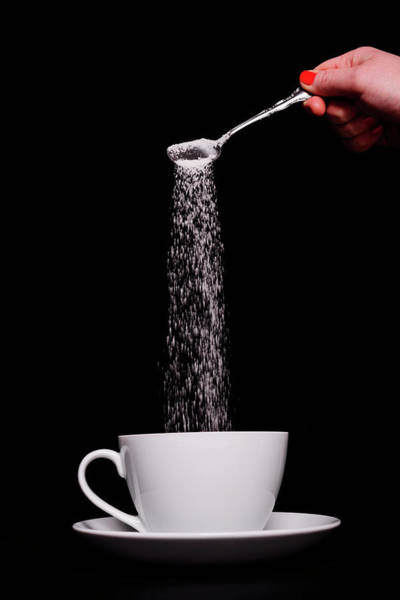 Adult Beverage Photograph - Pouring Sugar by Stock colors