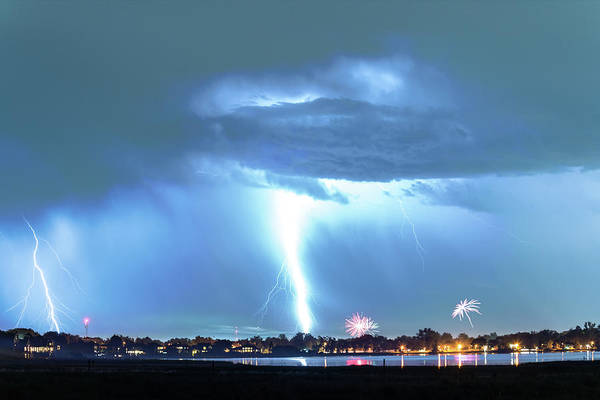 Photograph - Power Bolt From Heaven by James BO Insogna