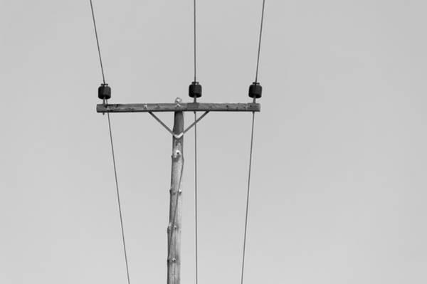 Dodecanese Photograph - Power Line Pole by Daniel Kulinski