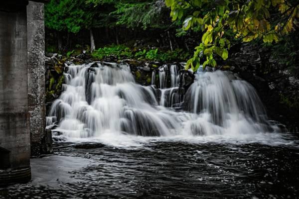 Wall Art - Photograph - Power Mill Waterfall by David Quillman
