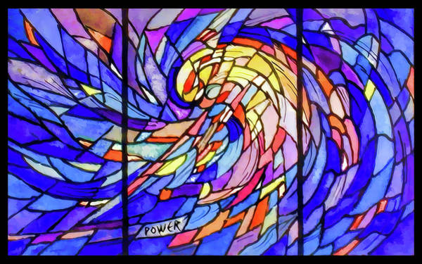 Digital Art - Power by Rick Wicker