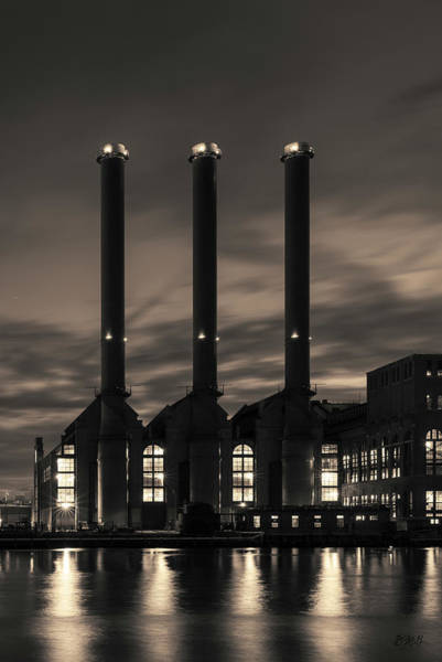 Photograph - Power Station Providence Ri I Toned by David Gordon