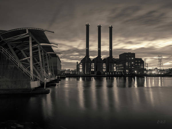 Photograph - Power Station Providence Ri II Toned by David Gordon