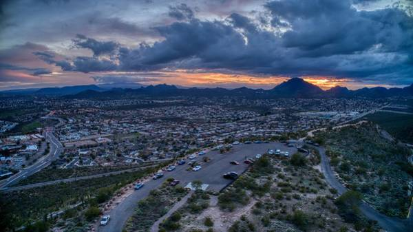 Photograph - Powerful Arizona Sunset  by Ants Drone Photography