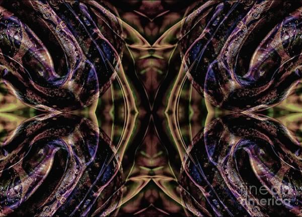 Mixed Media - Powerful Purple by Jolanta Anna Karolska
