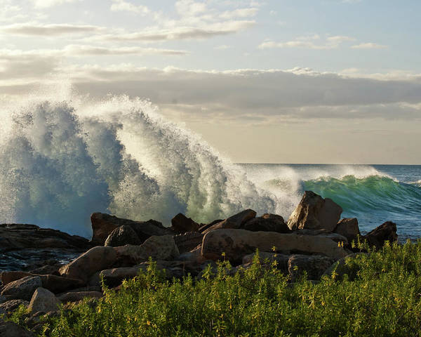 Hawaii Islands Photograph - Powerful Waves At Secret Beach Koolina by Photos By Naomi Hayes Of Island Memories Photography