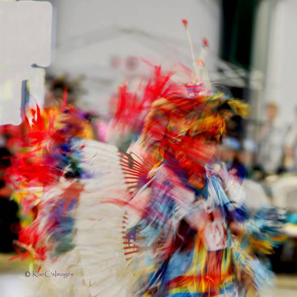 Powwow Wall Art - Photograph - Powwow Abstraction #5 by Kae Cheatham
