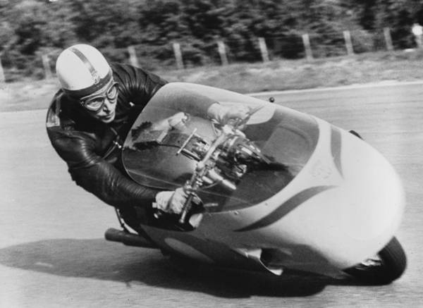Motorcycle Racing Photograph - Practice Spin by Keystone