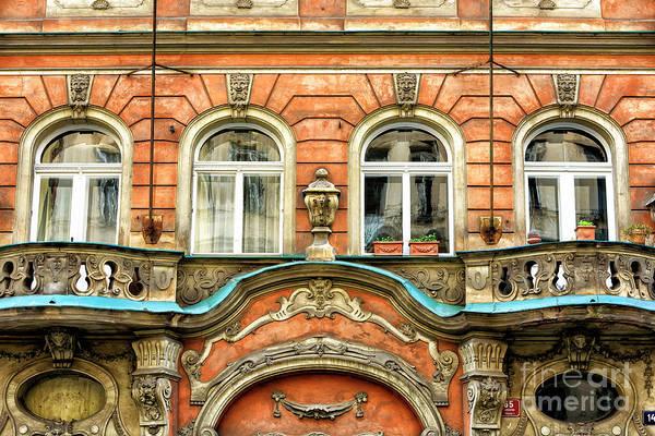 Photograph - Prague Architectural Wonders 2008 by John Rizzuto