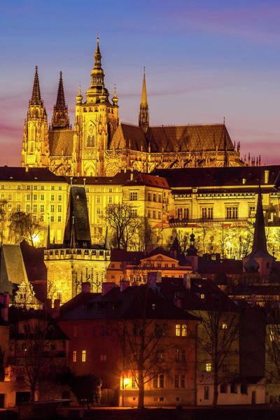 Wall Art - Photograph - Prague At Twilight by Andrew Soundarajan