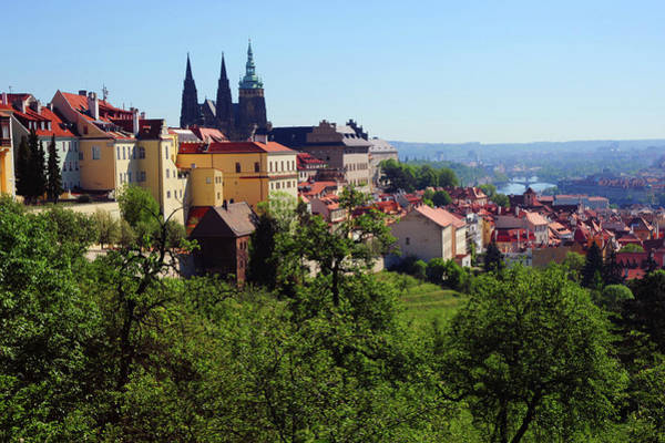 Wall Art - Photograph - Prague Castle View From Petrin Hill by Jenny Rainbow