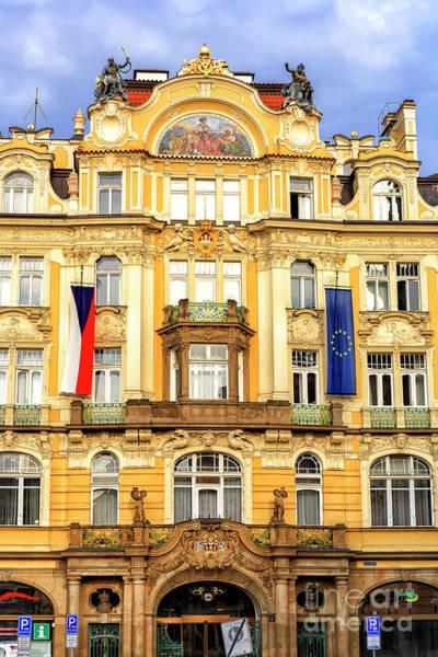 Photograph - Prague City Insurance Company Building Design 2008 by John Rizzuto