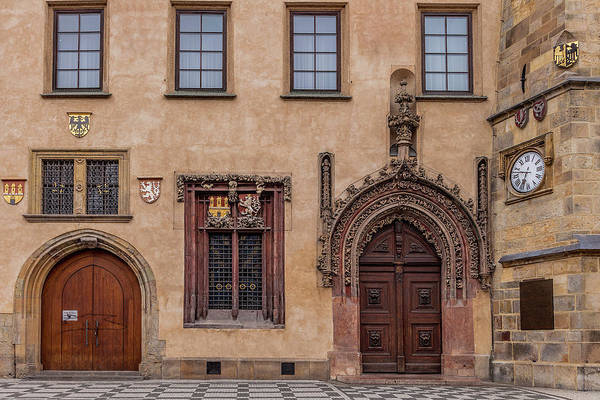 Wall Art - Photograph - Prague Entrance by Andrew Soundarajan