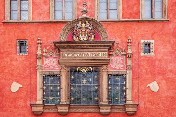 Wall Art - Photograph - Prague Facade by Andrew Soundarajan