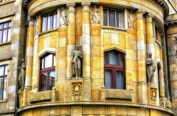 Photograph - Prague Ministry Of Industry And Trade Building by John Rizzuto