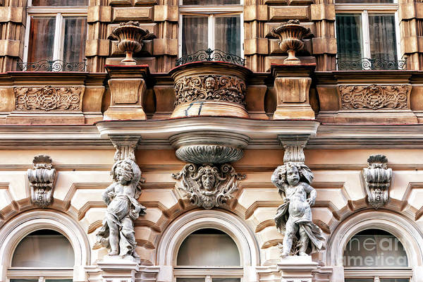 Photograph - Prague Old Town Architecture by John Rizzuto