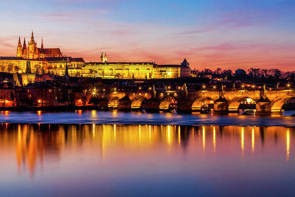 Praha Wall Art - Photograph - Prague Reflections by Andrew Soundarajan
