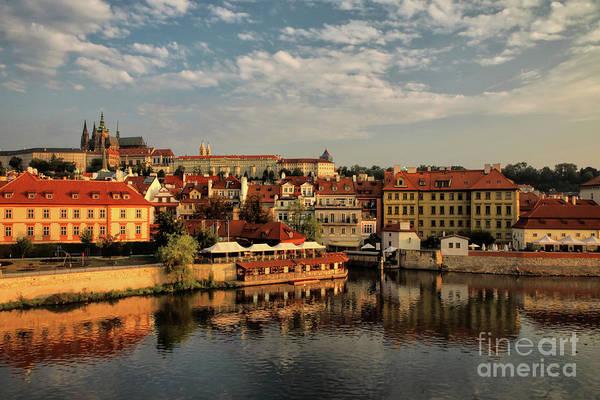 Wall Art - Photograph - Prague Sunrise by Mariola Bitner