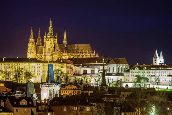Wall Art - Photograph - Prague Twilight by Andrew Soundarajan