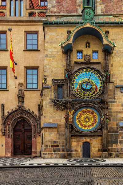 Praha Wall Art - Photograph - Prague's Astronomical Clock by Andrew Soundarajan