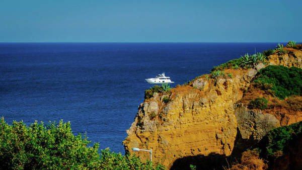 Art Print featuring the photograph Praia Dona Ana by Borja Robles
