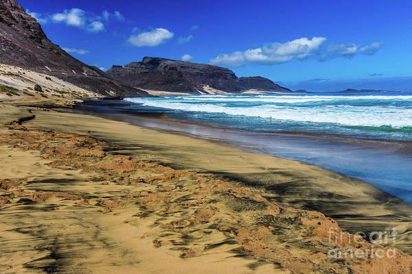Photograph - Praia Grande Beach, Sao Vincente, Cape Verde by Lyl Dil Creations
