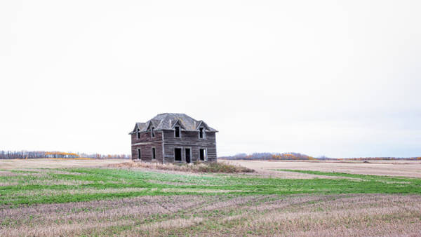 Photograph - Prairie Infirmary by Hamish Mitchell