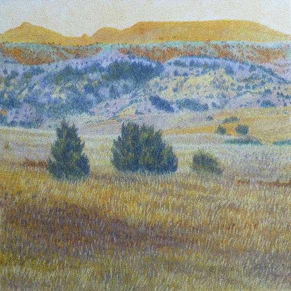 Painting - Prairie Realm Of West Dakota by Cris Fulton