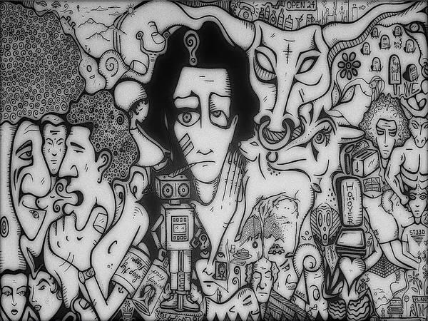 Subjective Digital Art - Pray Spraint by SteedSpot