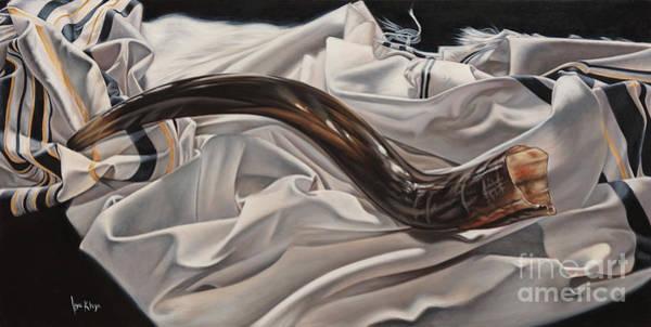 Shofar Wall Art - Painting - Prayer Cries by Ilse Kleyn