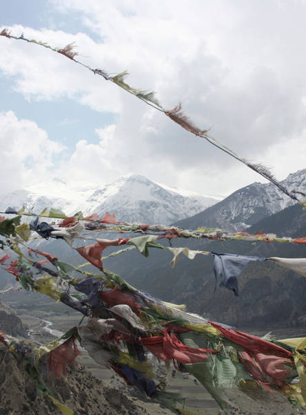 Nepal Wall Art - Photograph - Prayer Flags by Photographer