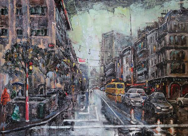 Painting - Pre-christmas Snow by Stefano Popovski