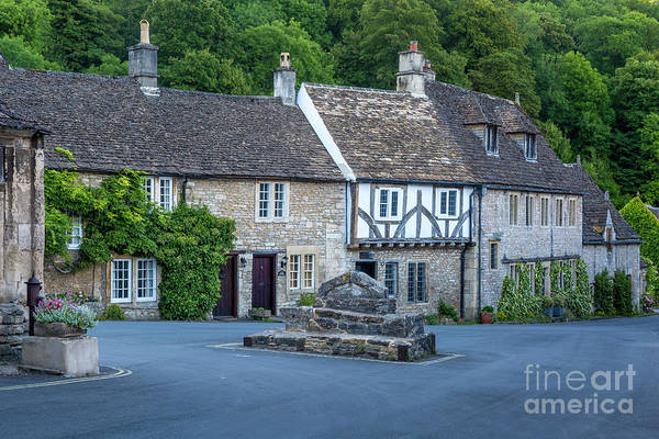 Photograph - Pre-dawn In Castle Combe by Brian Jannsen