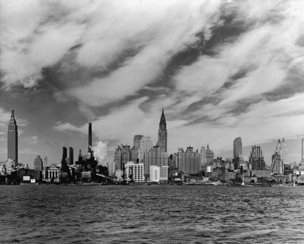 Tudor Photograph - Pre - United Nations East Midtown by Hulton Archive