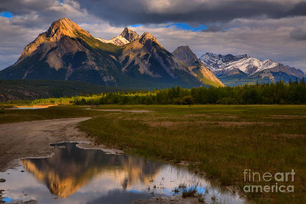 Photograph - Preachers Point Water Reflections by Adam Jewell