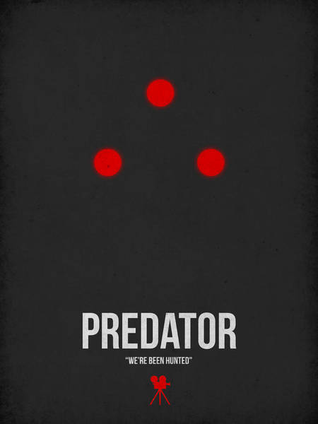 Sci-fi Digital Art - Predator by Naxart Studio
