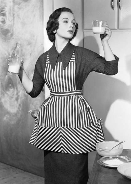 Apron Photograph - Preparing Food by Chaloner Woods