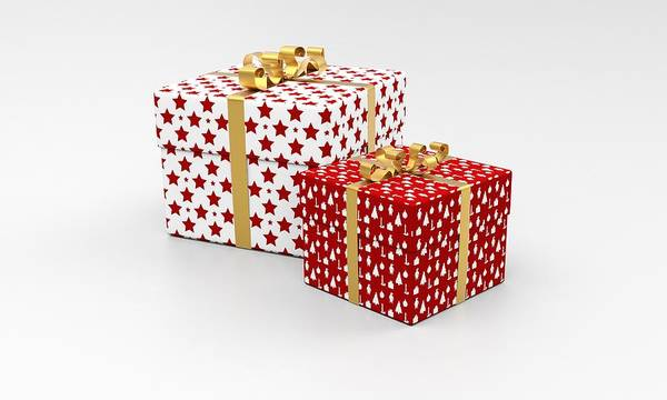 Photograph - Presents For Christmas by Top Wallpapers