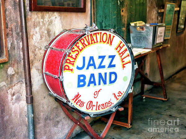 Photograph - Preservation Hall Jazz Band In New Orleans by John Rizzuto