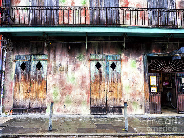 Photograph - Preservation Hall Profile In New Orleans by John Rizzuto