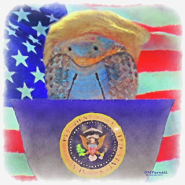 Wall Art - Digital Art - President Of The United Snakes Of America by Diane Parnell
