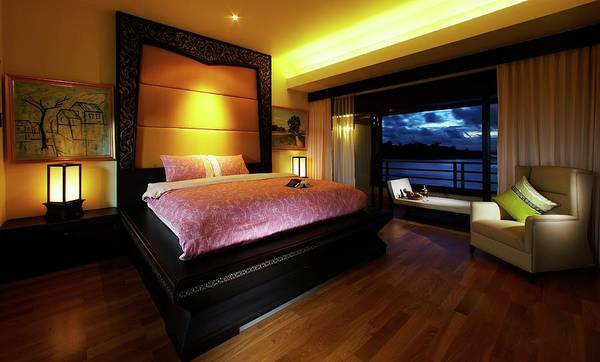 Cushion Photograph - President Suite by Athit Perawongmetha