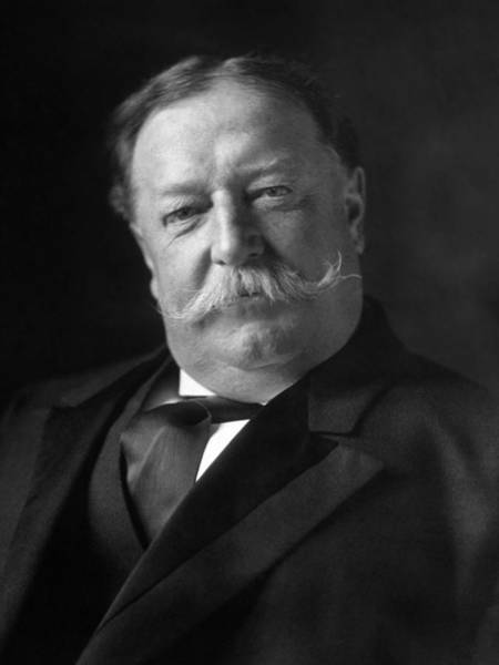 Wall Art - Photograph - President William Howard Taft - 1909 by War Is Hell Store